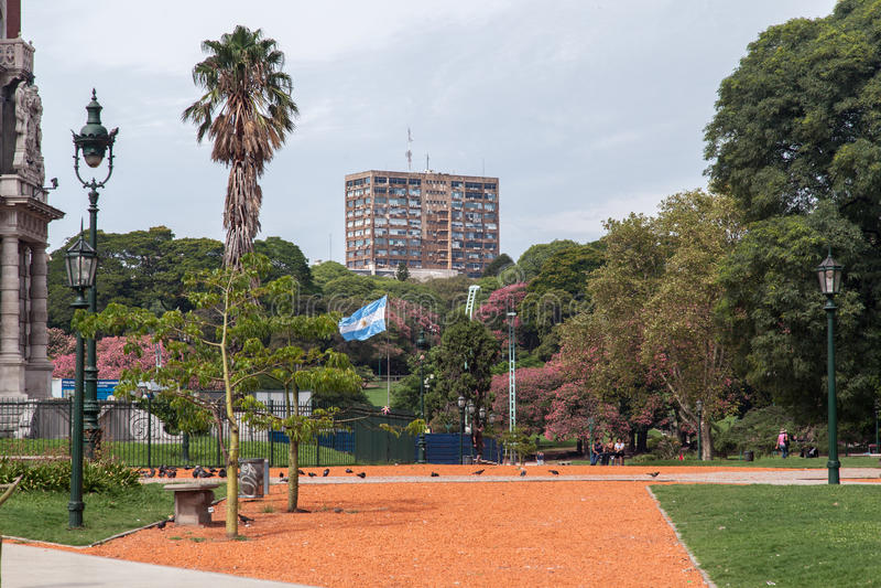 Plaza SAN Martin Μπουένος Άιρες στοκ φωτογραφία με δικαίωμα ελεύθερης χρήσης