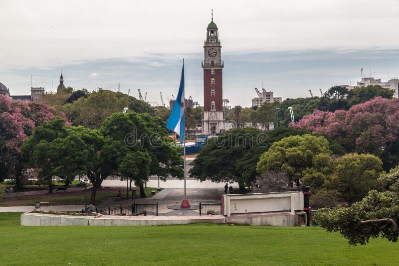 Plaza SAN Martin Μπουένος Άιρες στοκ φωτογραφίες με δικαίωμα ελεύθερης χρήσης