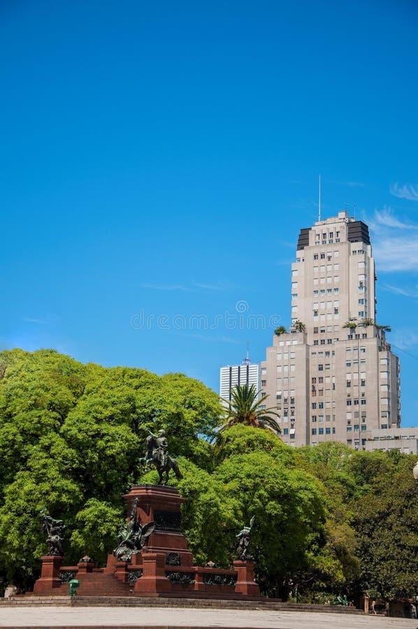 Plaza SAN Martin στο Μπουένος Άιρες στοκ φωτογραφία
