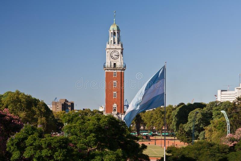Download Plaza San Martin Buenos Aires Stock Photo - Image of martin, flag: 19679644