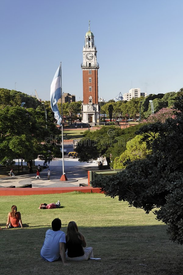 Plaza San Martin - Buenos Aires photographie stock
