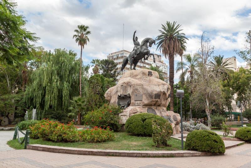 Plaza SAN Martin Mendoza Αργεντινή στοκ εικόνες