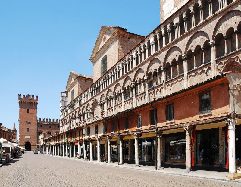 Plaza Trento e Trieste imagen de archivo