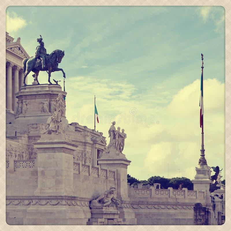 Plaza Venezia immagine stock libera da diritti
