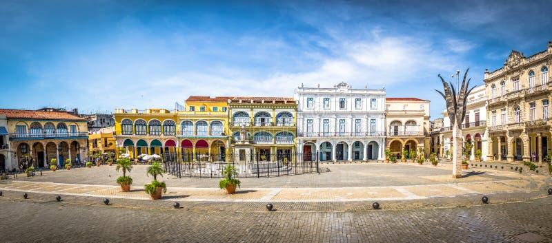 Plaza Vieja - Havana, Cuba royalty free stock photography