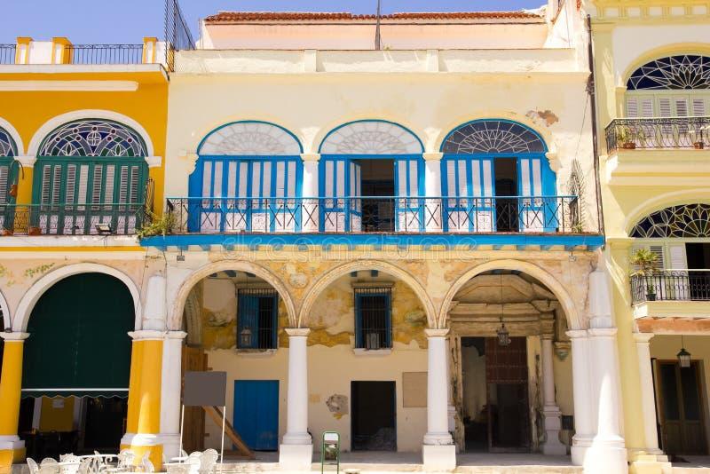 Plaza Vieja - vecchia piazza immagini stock