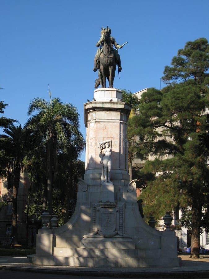 Plaza Zabala Montevideo Uruguay images stock