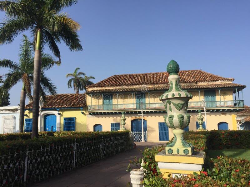 Plazaborgmästare Trinidad Cuba royaltyfri bild