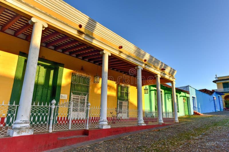 Plazaborgmästare - Trinidad, Kuba royaltyfri fotografi