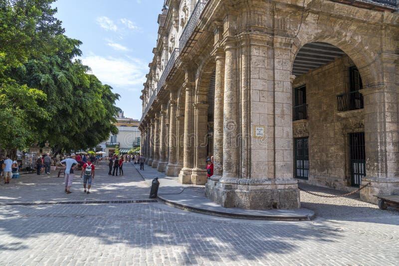 Plazades Armas Havana, Kuba #4 royaltyfria foton