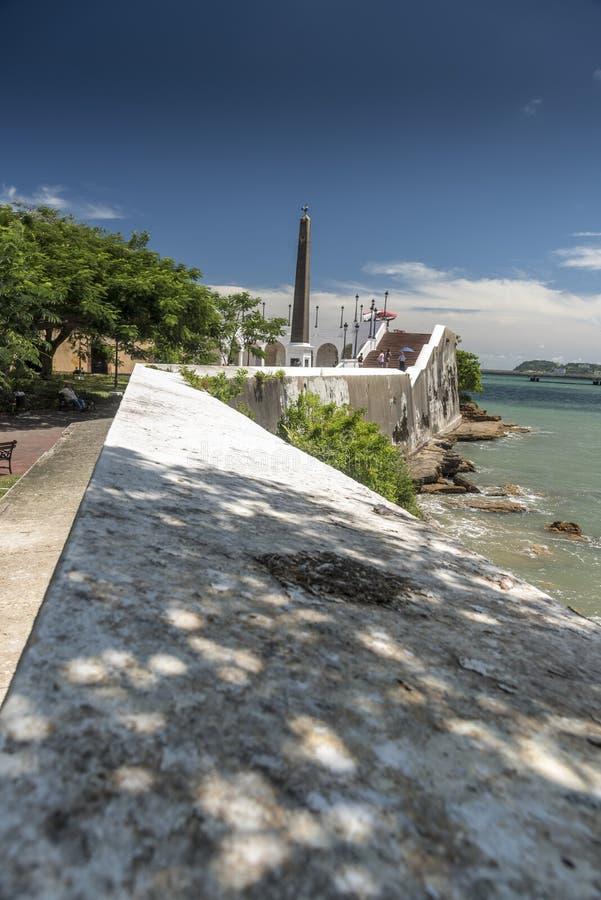 Plazaen de Francia, gammal stad Panama City, Panama arkivbild