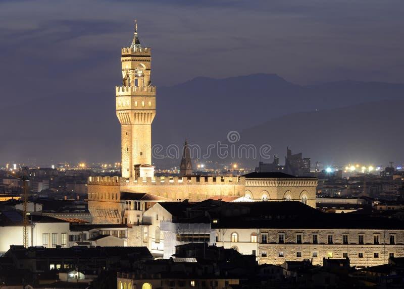 Palazzo Vecchio, Florence stock photography