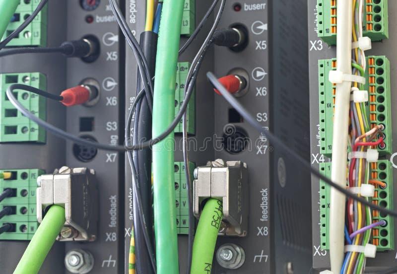 plc автоматизации стоковая фотография rf