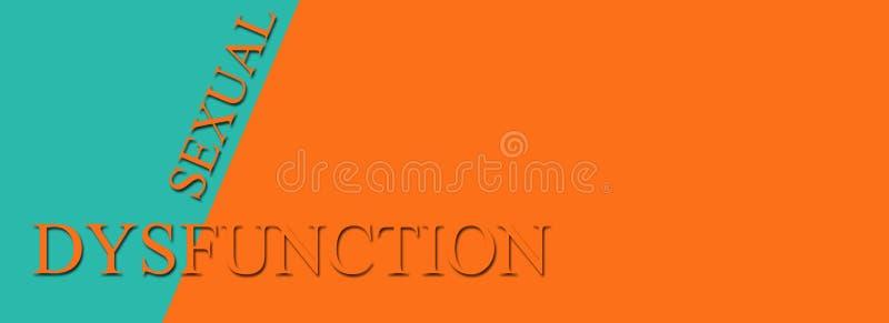 Plciowy dysfunkcja ilustracji
