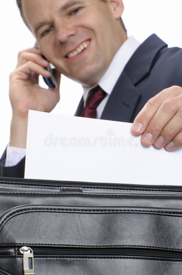 Download Pleasant Business Correspondence Stock Photo - Image: 19017696
