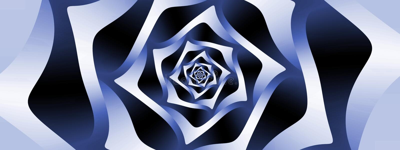 Download Pleasant spiral, panoramic stock illustration. Illustration of illusion - 83711301