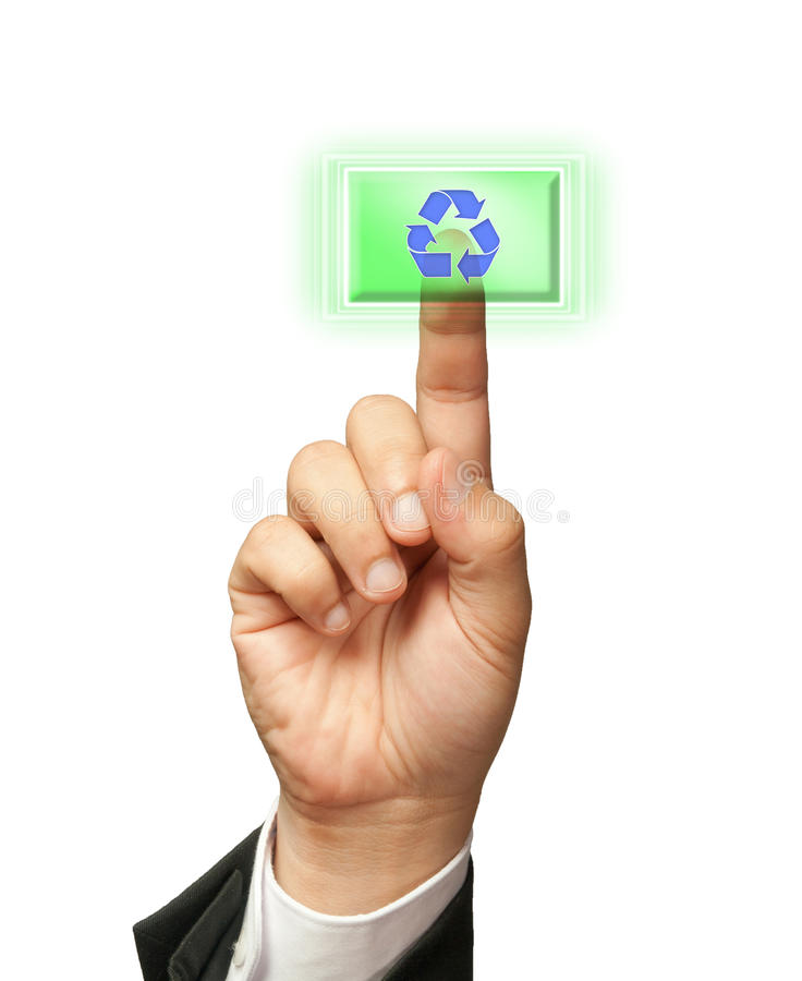 Free Please Recycle Stock Photography - 21689332