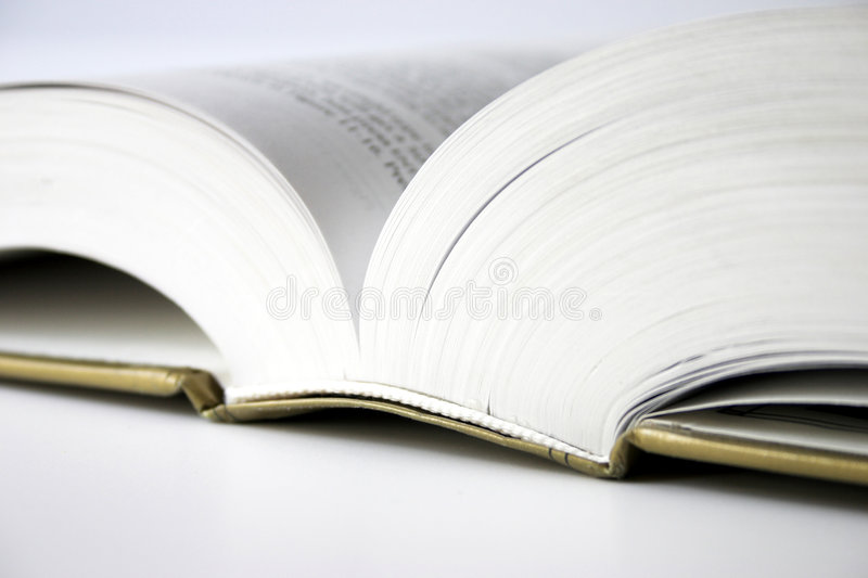 Please, turn to page... royalty free stock image