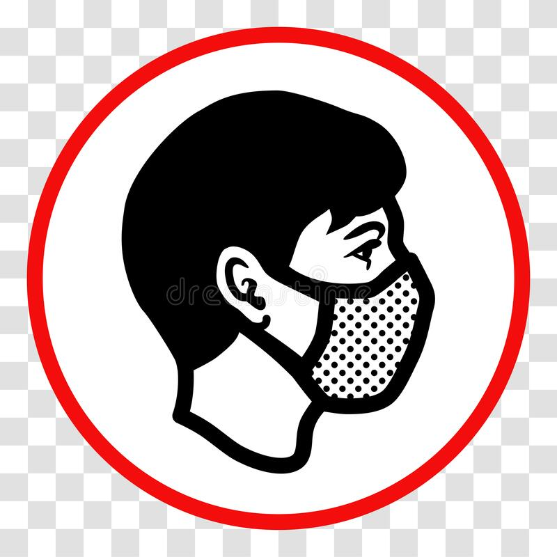Free `Please Wear A Face Mask` Sign Stock Photo - 191806970