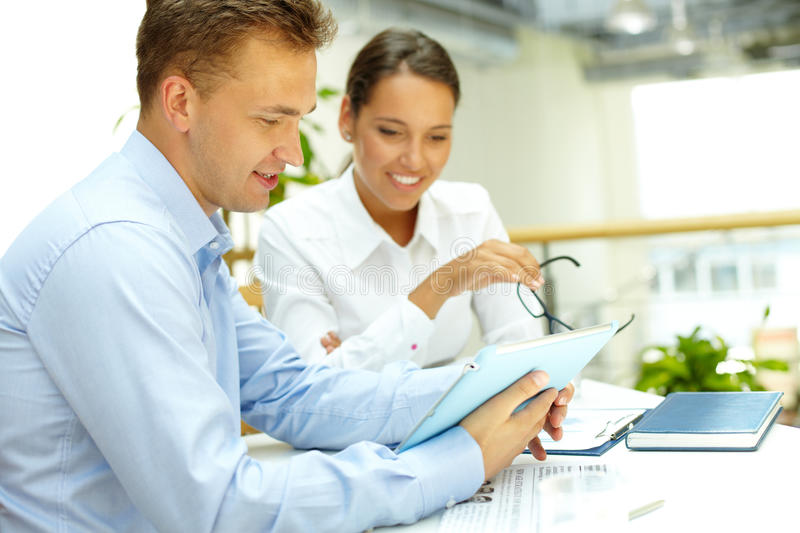 Download Pleased with results stock image. Image of businessman - 28707797
