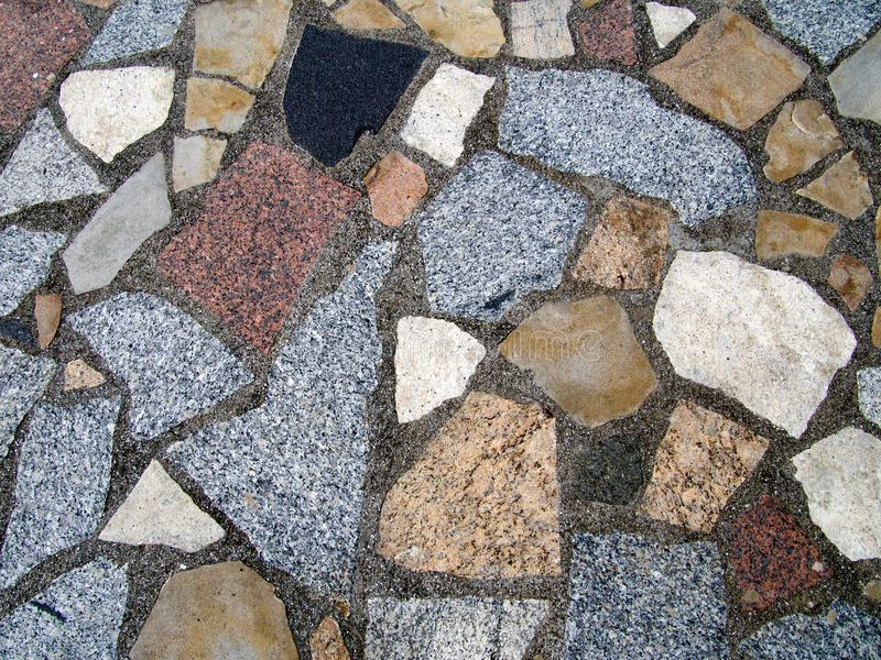 Stone crazy paving floor. royalty free stock photos