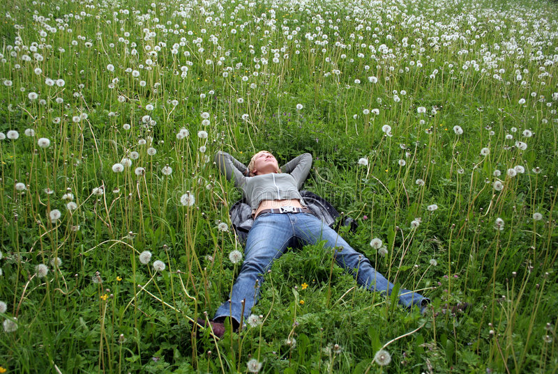 Download Pleasure stock image. Image of grass, lady, legs, beauty - 3573725