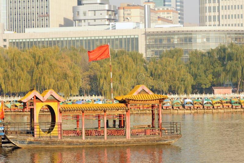 Download Pleasure-boat stock photo. Image of park, urban, water - 35135066