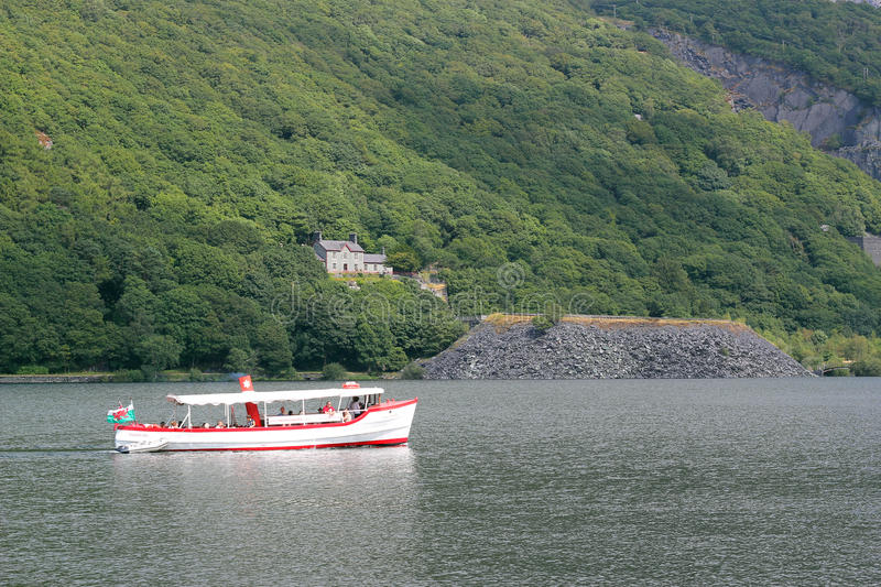 Download Pleasure Boat Cruising On A Lake In Wales. Editorial Stock Photo - Image: 32780758