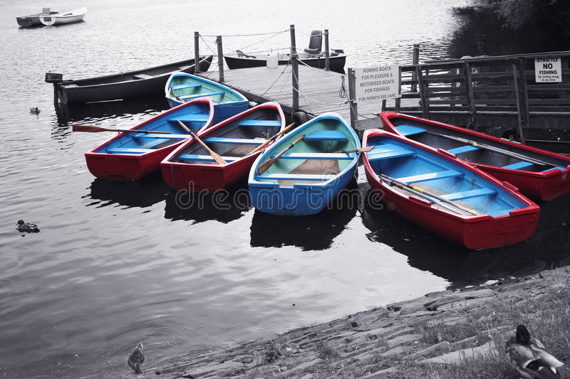 Pleasure Boats royalty free stock image
