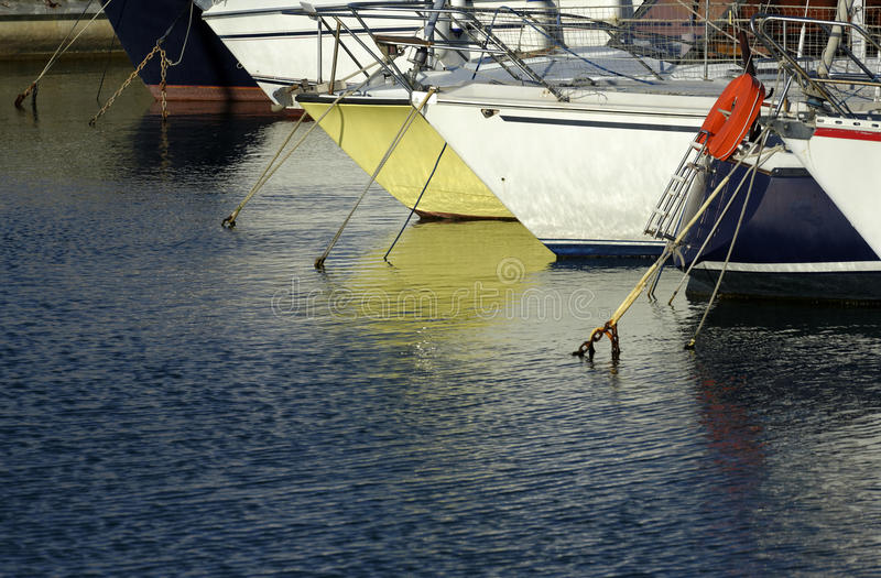 Download Pleasure boats stock photo. Image of port, buoy, reflection - 31301722
