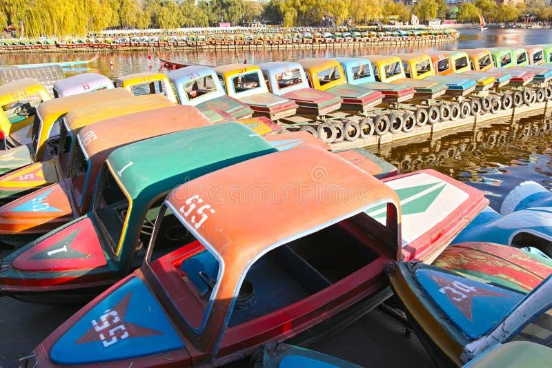 Pleasure-boats Stock Image