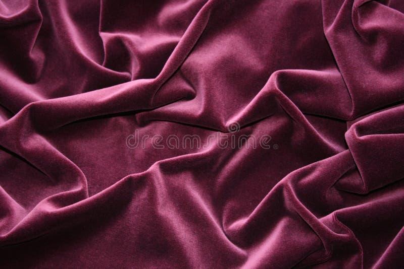 Pleated velvet stock photo