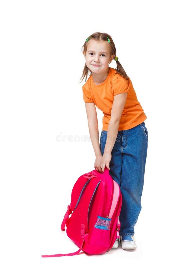 plecak dziewczyna zdjęcie royalty free