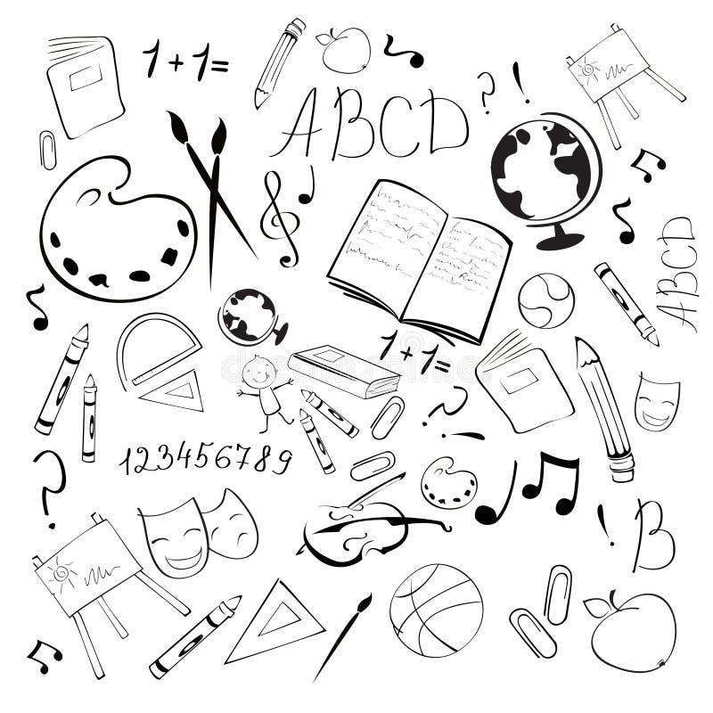 Plecy szkoła ilustracja wektor