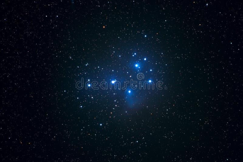 Pleiades stock abbildung