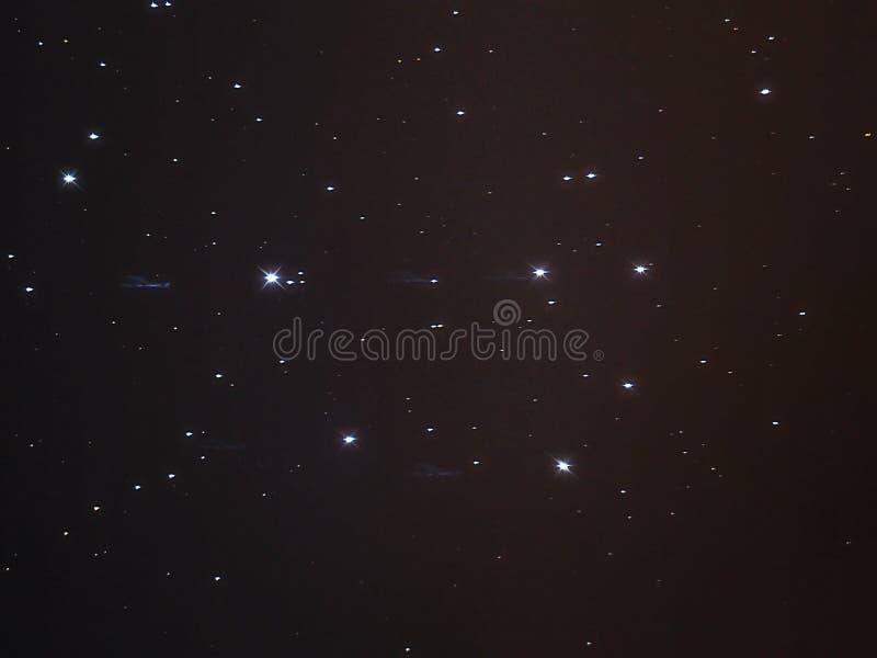 PLeiades (M45) obrazy stock