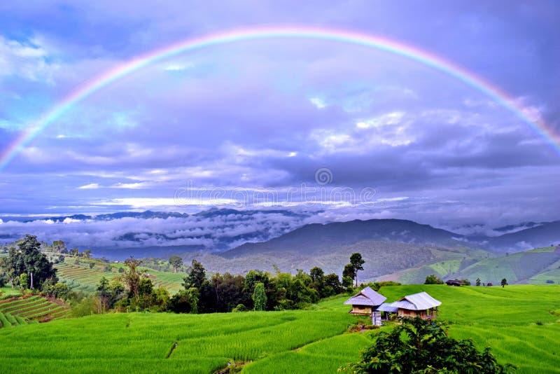 Plein arc-en-ciel photo libre de droits
