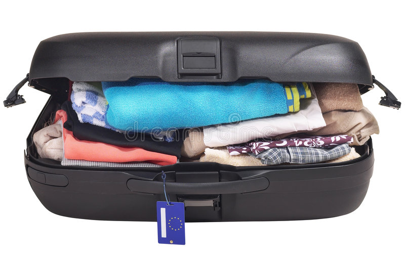 plein bagage images stock