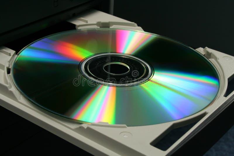 Plein CD de bureau images libres de droits