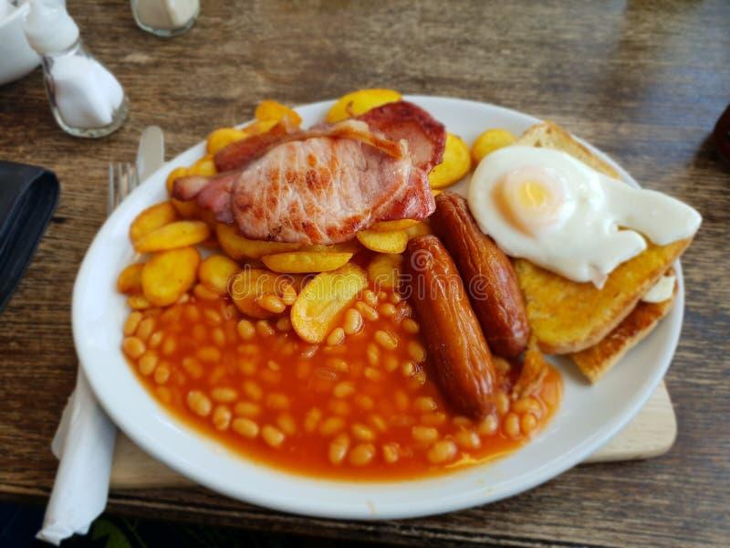 Plein déjeuner anglais photos stock