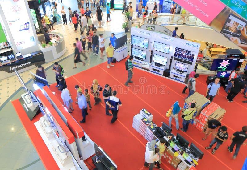 PLEIN LAAG YAT Winkelcomplex Kuala Lumpur royalty-vrije stock foto