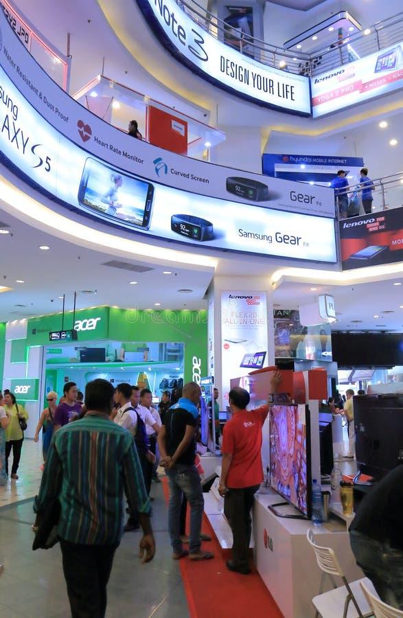PLEIN LAAG YAT Winkelcomplex Kuala Lumpur stock afbeelding