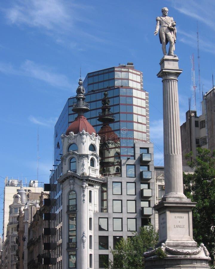 Plein Lavalle, Buenos aires royalty-vrije stock foto's