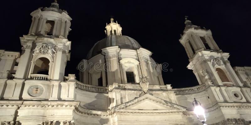 Plein Navona in Rome, Italië royalty-vrije stock foto's