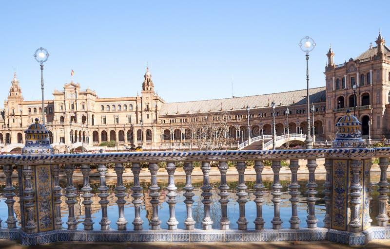 Plein van Spanje royalty-vrije stock afbeeldingen