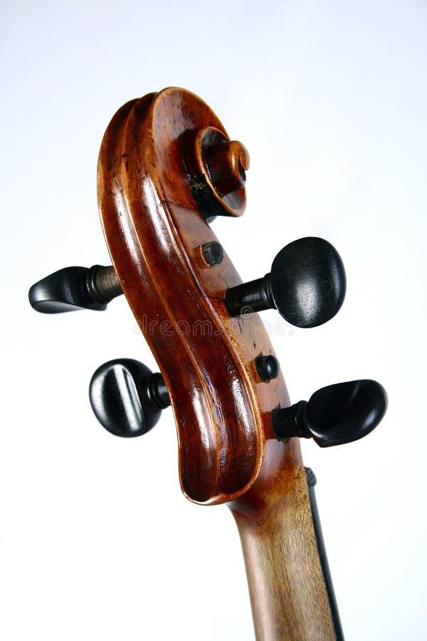 Plein violon photographie stock