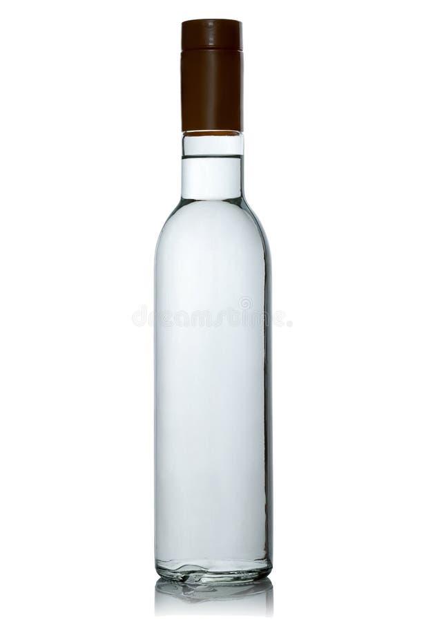 Pleine bouteille scellée de vodka photos libres de droits