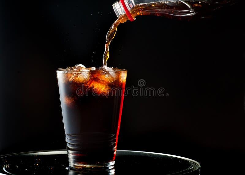 Pleine glace de kola photo libre de droits