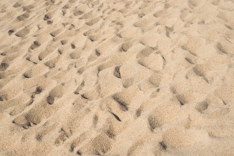 Pleine image de cadre du sable de plage photo libre de droits
