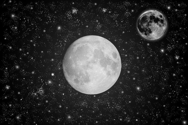pleine lune   images stock
